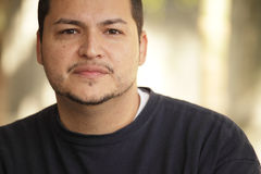 Headshot of a Latino man Royalty Free Stock Images