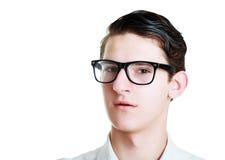 Headshot młody człowiek Obrazy Stock