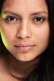 Headshot młoda kobieta Zdjęcia Stock
