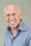 Headshot of a man smiling Stock Images