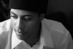 Headshot masculino atractivo Fotos de archivo libres de regalías