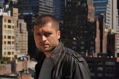 Headshot masculino do ator Foto de Stock
