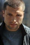 Headshot masculino do ator Fotos de Stock