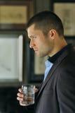 Headshot masculino do ator Fotografia de Stock Royalty Free