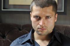 Headshot masculino do ator Foto de Stock Royalty Free