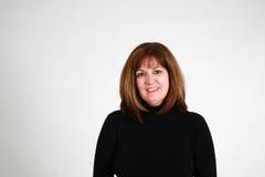 Headshot of mature woman Stock Photos
