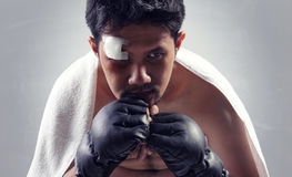Fight strategy stock images