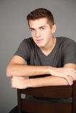 Headshot of older teen boy Royalty Free Stock Photo