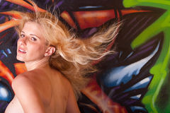 headshot piękna kobieta Fotografia Royalty Free