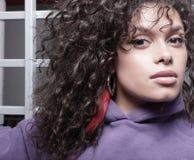 headshot piękna kobieta Zdjęcie Stock