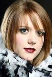 headshot piękna kobieta Obrazy Stock