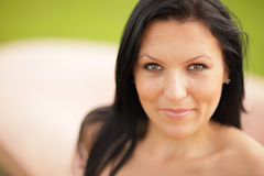 Headshot piękna kobieta Obraz Stock