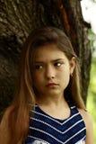 Headshot piękno dziewczyna Fotografia Stock