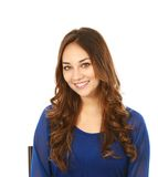 Headshot piękna młoda kobieta Fotografia Royalty Free