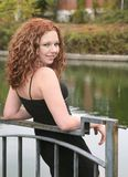 headshot portreta kobieta Zdjęcie Royalty Free