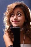 Headshot pose Stock Image