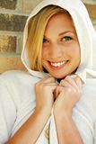 Headshot of pretty teen model smiling Royalty Free Stock Photo