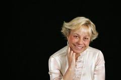 headshot seniora kobieta Obrazy Royalty Free