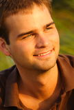 Headshot of a smiling guy Stock Photography