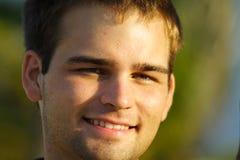 Headshot of a smiling guy Stock Image