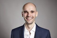 Headshot of Smiling Man Stock Photos