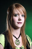 Headshot of a Teenager Royalty Free Stock Photos
