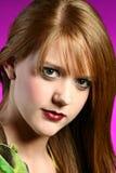 Headshot of a Teenager Stock Image