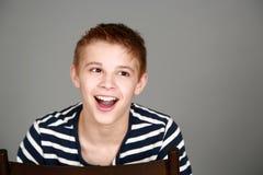 Headshot of tween boy Stock Photography