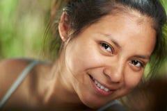 Headshot uśmiechnięta dziewczyna Zdjęcie Royalty Free