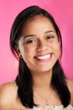 Headshot uśmiechnięta dziewczyna Zdjęcie Stock
