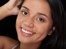 Headshot uśmiechnięta dziewczyna Obraz Stock