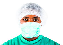 Headshot van een chirurg stock fotografie