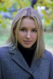 Headshot van een mooi meisje Stock Afbeeldingen