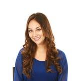 Headshot van mooie jonge vrouw Royalty-vrije Stock Fotografie