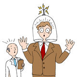 Headshrinkingsmens Royalty-vrije Stock Fotografie