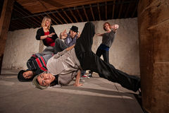 Headspin Landing Stock Photography