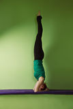 Headstand Stock Photography