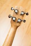 Headstock гитары гавайской гитары гаваиской Стоковая Фотография