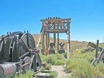 Headstock шахты Стоковое Изображение RF
