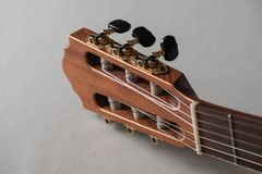Headstock Acoustic Guitar stock photos