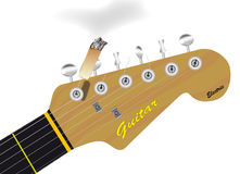 Headstock Cigarette Royalty Free Stock Photography