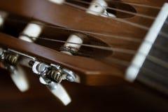 Headstock clássico da guitarra imagens de stock royalty free