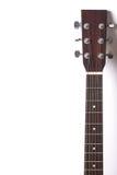 Headstock da guitarra Fotografia de Stock