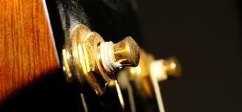 Headstock da guitarra Imagens de Stock