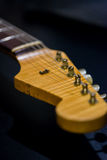 Headstock da guitarra Fotos de Stock Royalty Free
