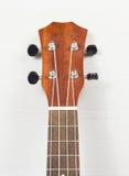 Headstock da guitarra havaiana da uquelele Fotografia de Stock Royalty Free