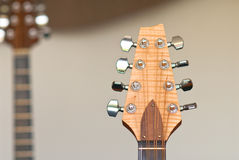 Headstock guitar Stock Photography