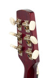 Headstock of the guitar Stock Photos