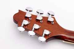 Headstock of the guitar Stock Photography