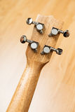 Headstock of Ukulele Hawaiian Guitar Stock Photography